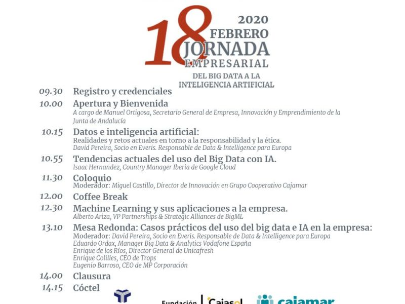 Jornada Empresarial Del Big Data a la Inteligencia Artificial