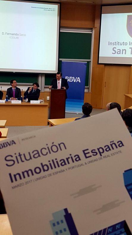 Análisis del BBVA sobre las buenas expectativas del sector inmobiliario en Andalucia