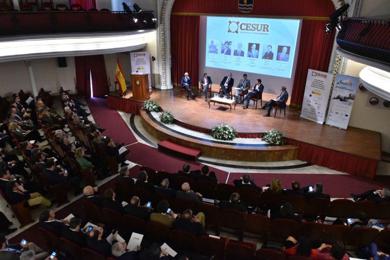 Éxito de la jornada empresarial sector Defensa CESUR