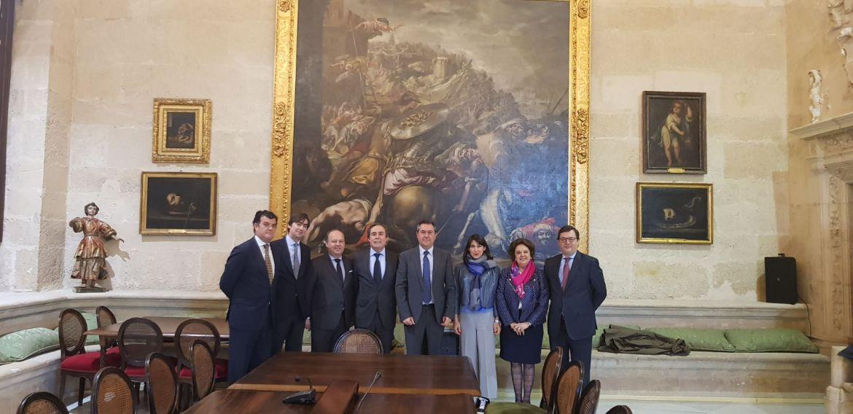 Recepción con el Alcalde de Sevilla