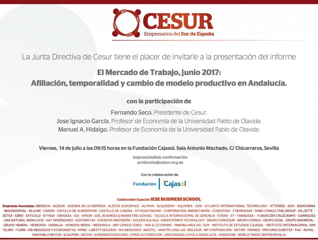 II Informe sobre el mercado laboral en España y Andalucía.