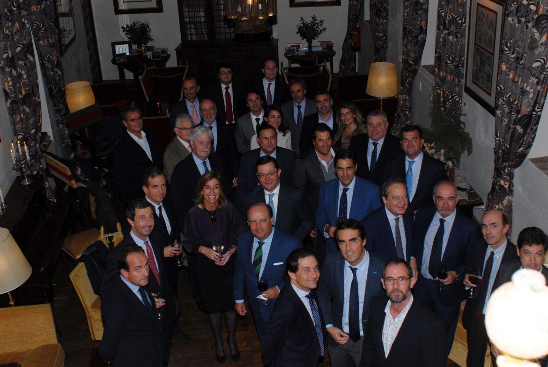 Junta directiva y encuentro con empresarios de Córdoba