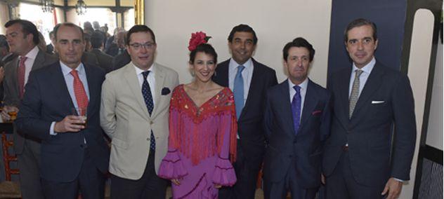 Recepción en la Feria de Sevilla