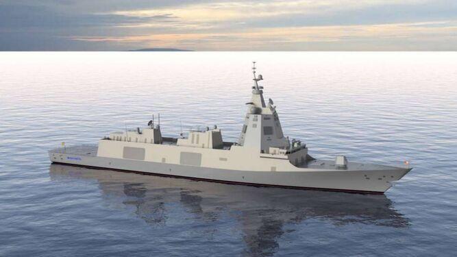 La sevillana Ghenova participará en el diseño de la nueva fragata de la Armada