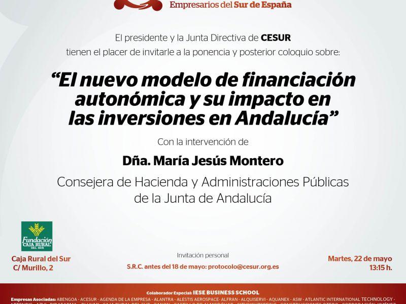 El nuevo modelo de financiación autonómica y su impacto en las inversiones en Andalucía
