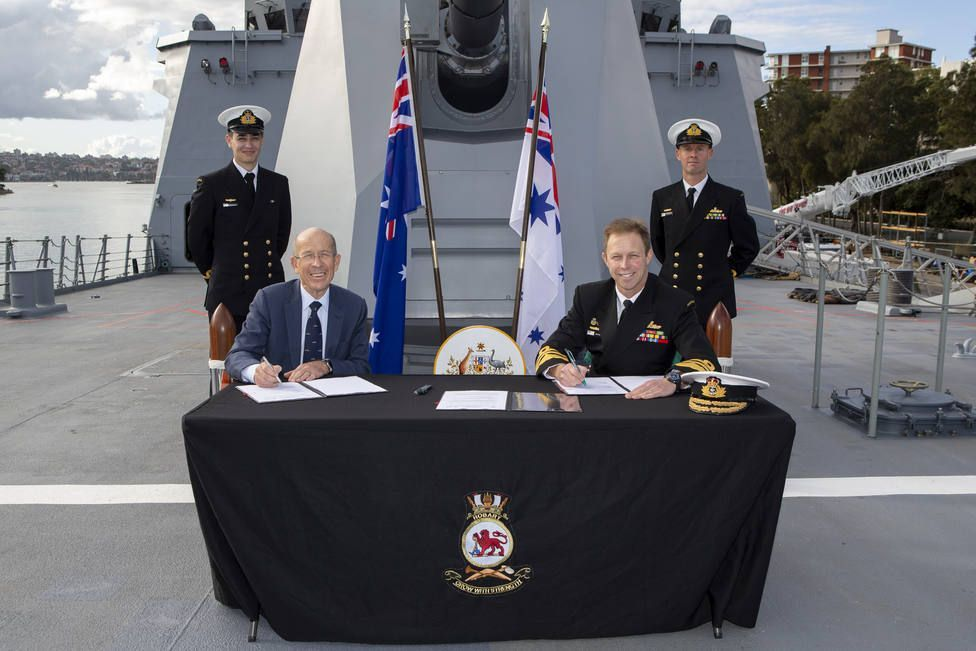 Navantia Australia ha firmado un acuerdo con la Armada de este país que establece que todos los buques actuales y futuros